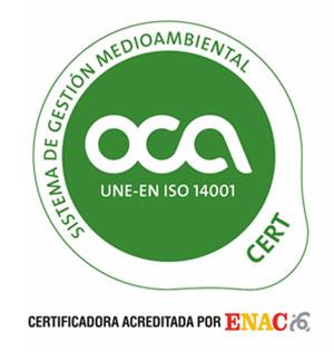 Medioambiente OCA Sistema de Gestión Medioambiental Castellón